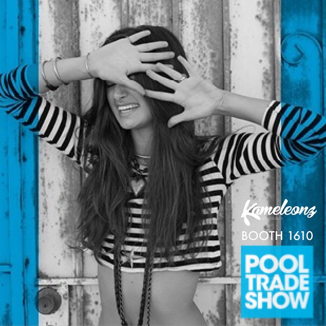 If you're in Las Vegas this week come check us out at the @POOLTRADESHOW  Booth 1610 Kameleonz.com