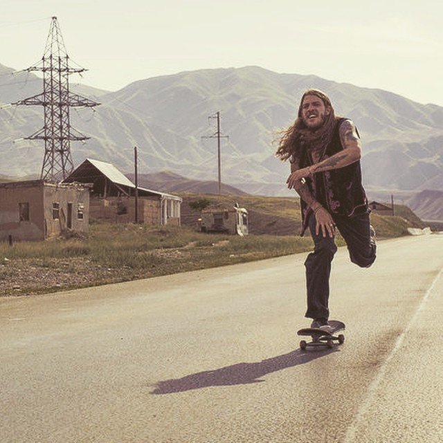 Keep pushing. @brian_delatorre skates Kyrgyzstan. #Skate #ChildrenOfTheSun