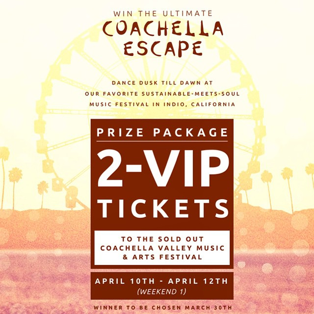 Want to go to #Coachella? Enter to #win our VIP #contest now!  http://contest.io/c/jxfnjom8 @Coachella #music #festival #winner #vip #desert #indio #cali #dusktilldawn