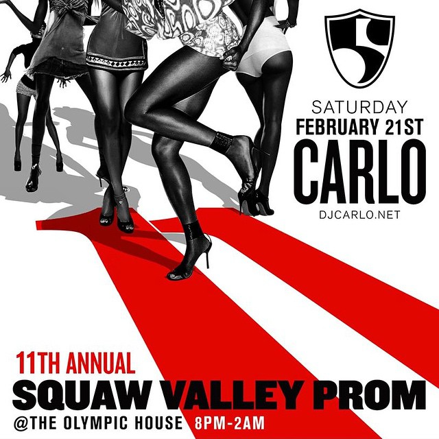 This. Saturday.  Tickets // SquawValleyProm.com #squawprom