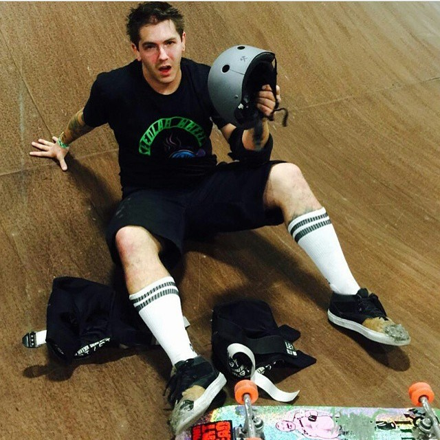 "Field Report : heavy slam at super session a few weeks ago @cropduster666 says ""the s1 lifer helmet probably save my life."" #skateboarding #liferhelmet #s1helmets The S1 Lifer Helmet is designed to help protect your head from both multiple impacts and..."
