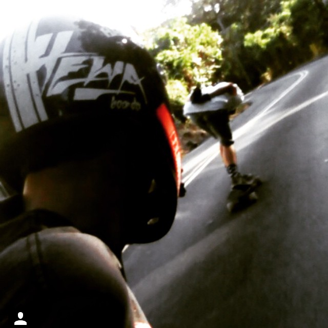 @bronsoniscool and @rjgoesfast with the Maui vibes. #maui #hawaii #longboardhawaii #longboard #longboarding #longboarder #dblongboards #goskate #shred #rad #stoked #skateboard #skateboarding #bombhills #longboardlife