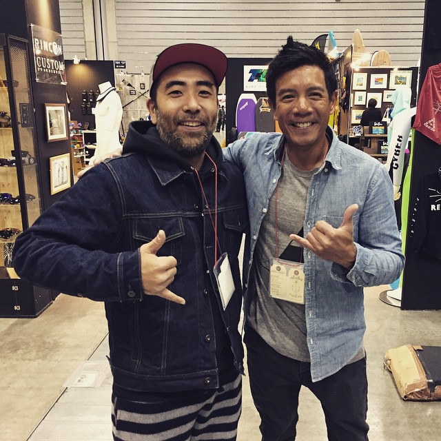 The man who puts this rad event called #interstyle together every year. #mahalo @t_ringyo PC: @yurikogal