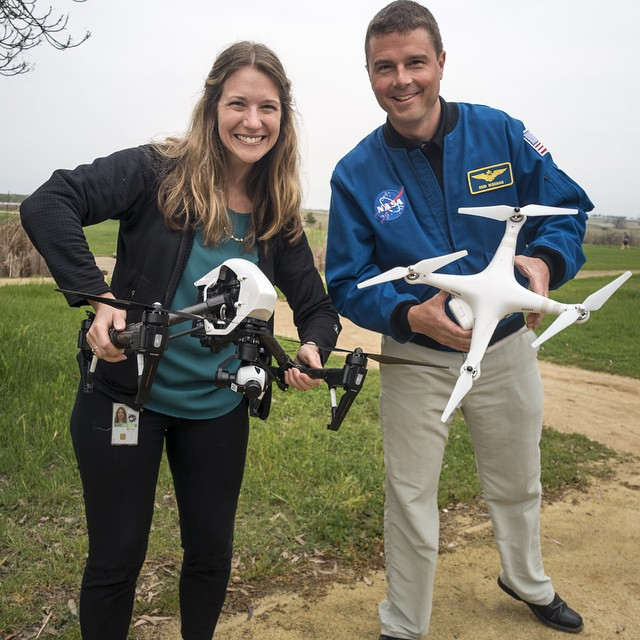 Our Director of Education, Romeo, got to meet up with Astronaut Reid Wiseman and Sarah Mitchell @SparkerAerials for some after work flying. Sarah has been flying her Phantom 2 Vision for some time now and we just shared one of her creation on here a...