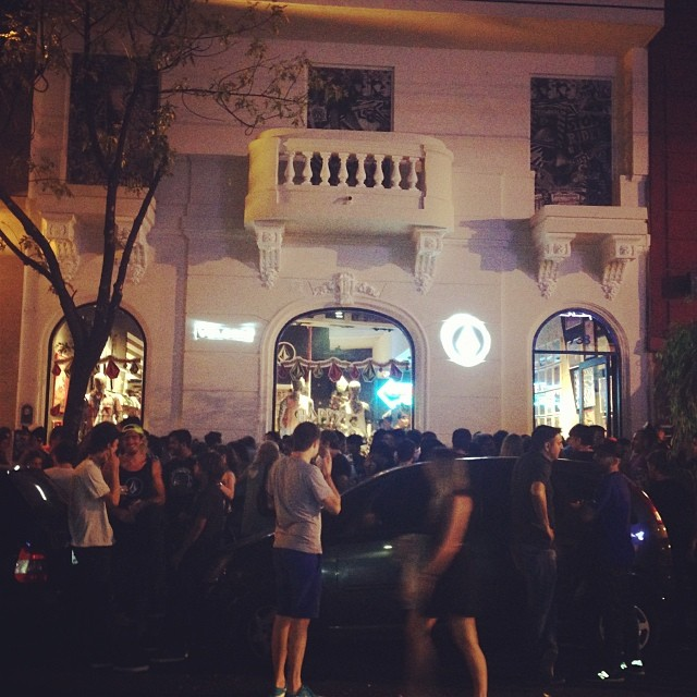 Opening party #volcomstorepalermoviejo#volcomfamily#fiesta