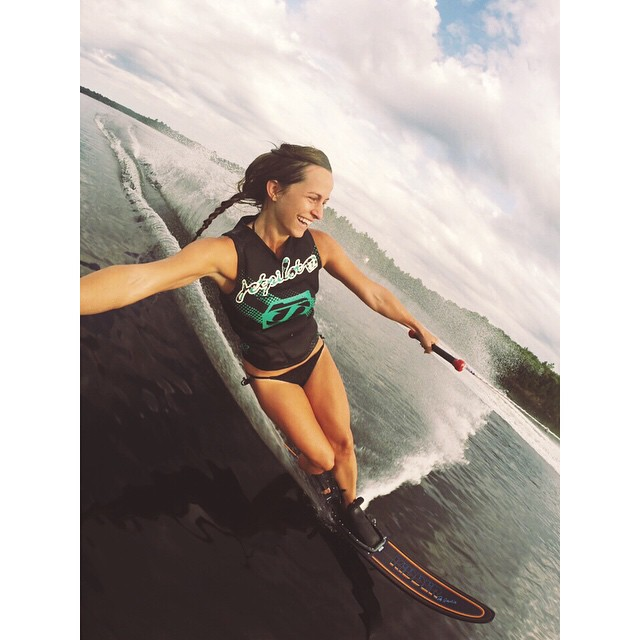 Hoven has a new #wcw and we want you to meet her! #hovenvision #hovenhunny #wake #wakeboarding #sandiego #gopro