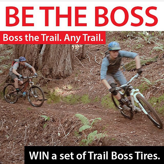 Head over to the @wildernesstrailbikes account to learn how to win a pair of our favorite tires. #Trailboss