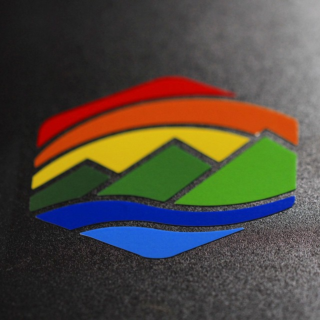 "The new ""CO HEX"" decals look amazing... don't you agree?  #kinddesign #colorado #nature #mountains #rivers #decal #liveyourdream"