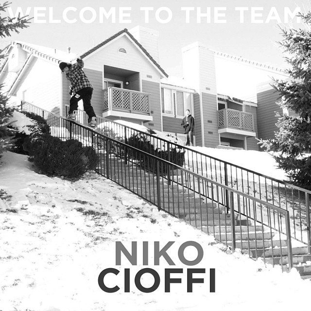 Big warm welcome to new iNi pro rider @nikocioffi . @gbpgremlinz @jslv - Lots of footy coming to you this season. #StayTuned #StapleHoodie
