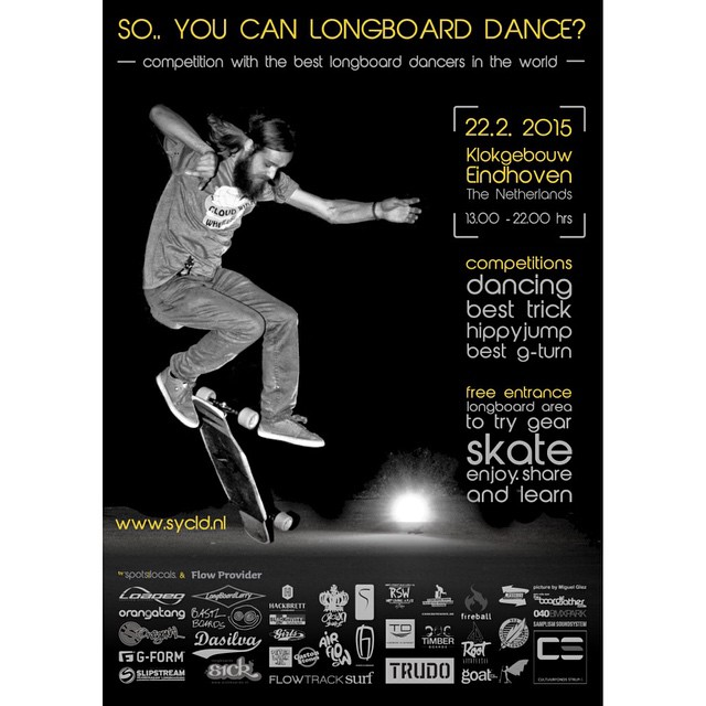 Are you ready?! This Sunday 22 #soyoucanlongboarddance 2015 edition is on in The Netherlands!  Some of the best European (and American!) dancers & freestylers will gather in #Eindhoven for this infamous event.  Plus, the main prize on Women Division is...