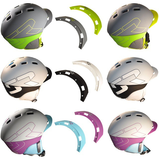 Did you kbow the brims on our #eleven #snow helmets can be customized based on color?  Check them out using the link on our profile. #beyou