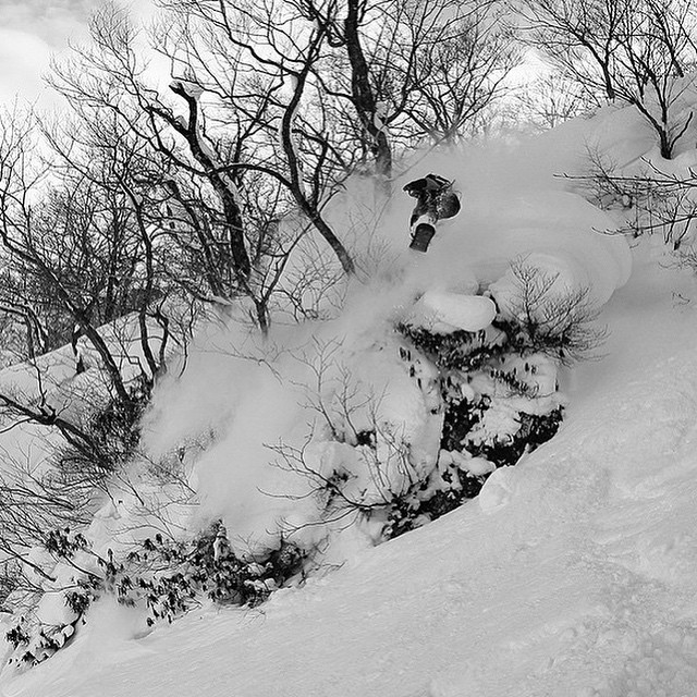 @laneknaack in #heaven #Jetson #FutureFreerideSeries #Japan Could this have been his ad shot?