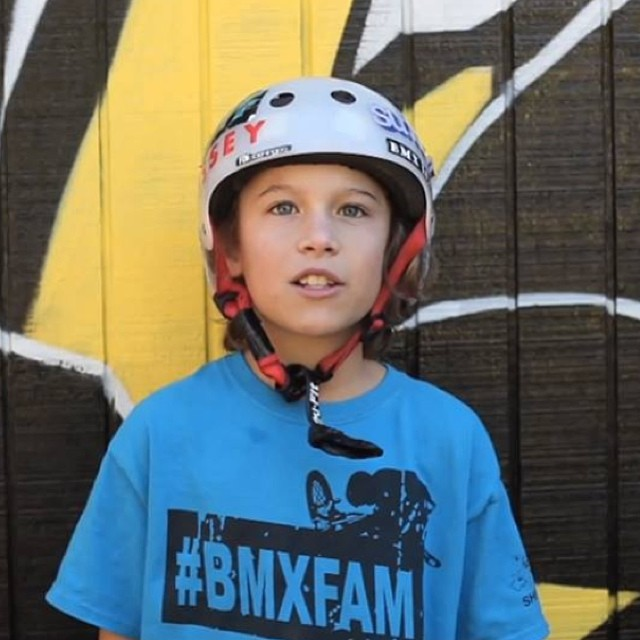 Video still from @ryanguettler's recap of the @lilprosbmxtour day 1! Check out team rider @ryanslusher and more shredding @staystrongbmx compound and @patcaseybmx dreamyard! #bmx #fdvclothing #lilprosbmxtour #riderowned #groms