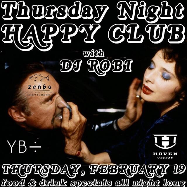 Craving good beats, sushi, and drinks specials before the weekend arrives? Head to Zenbu in Cardiff-by-the-Sea for Thursday Night Happy Club • Tell em Hoven sent you. #hovenvision @zenbusushi