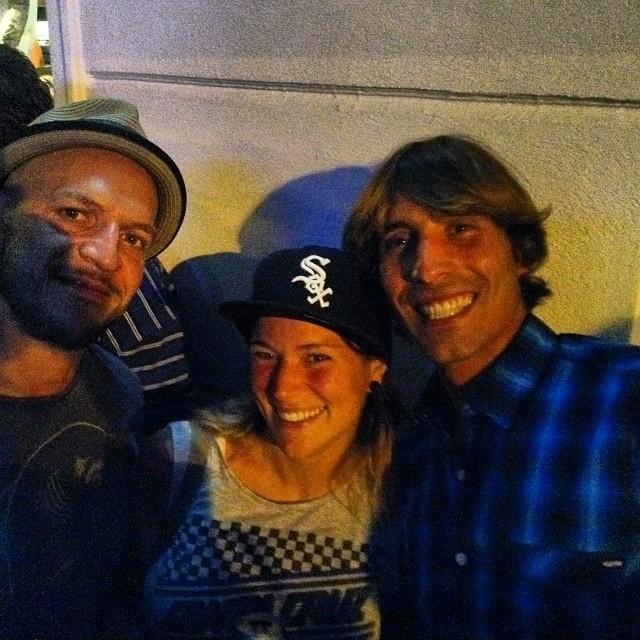 Martín, Euge y Fran gracias por estar!!! #volcomfamily #opening #VolcomPalermo @mvarbaro