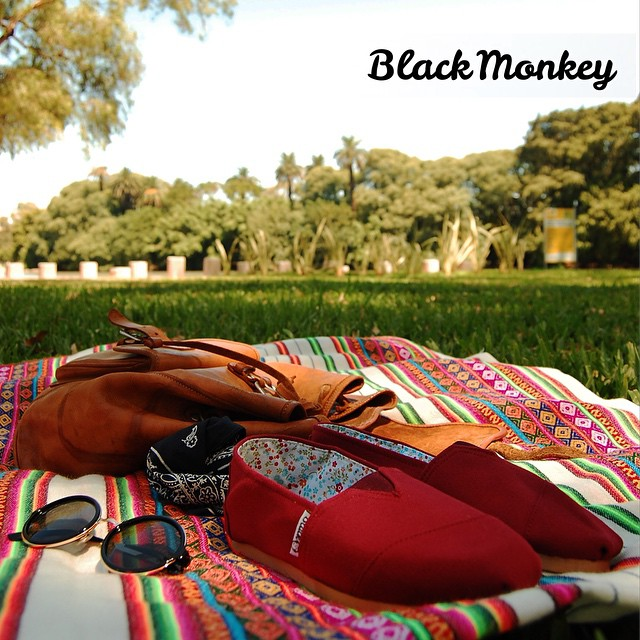 Una muy buena manera de empezar la mañana. @blackmonkeystore #alpargatas #calzado #cook #palermo #relax #morning #jueves #verano #enjoy #blackmonkey #music #picoftheday #followme #picnic #flower