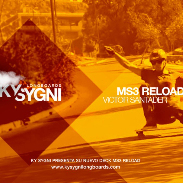 #ms3reload #ms3compact  #ms3black #kysygnilove #kysygnitruckcast #teamkysygni #happy #dhks #dhskate #ninjaslongboarding #skatebording #skate #sk8 #kysygnilongboards #victorsantander www.kysygnilongboards.com