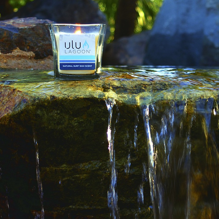 The 16 oz. Natural Jar relaxing with style. Head over to www.uluLAGOON.com to order yours today!  #uluLAGOON #instagood #summer #photooftheday #beach #lifestyle #amazing #waterfall