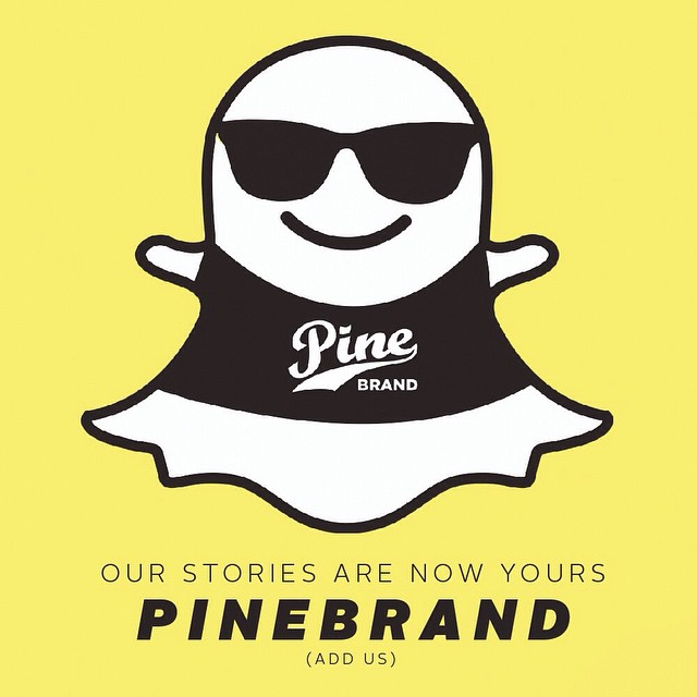 Are you a fan of discount codes and sneak peeks? Do you want to see the everyday insanity that is the Pine Crew? Follow our snapchat story! HOW TO:➡️add username PINEBRAND on snapchat➡️enjoy the benefits. We'll be chattin #pinearmy