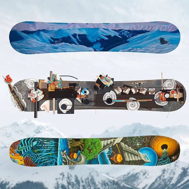 B4BC's #ShredTheLove winter series is headed to @SkiTaos this weekend for the annual K2 Bumps Challenge and #PaintForPeaks #snowboard art auction, an event that has raised over $90,000 over the past 5 years!  Check out these amazing boards and get more...