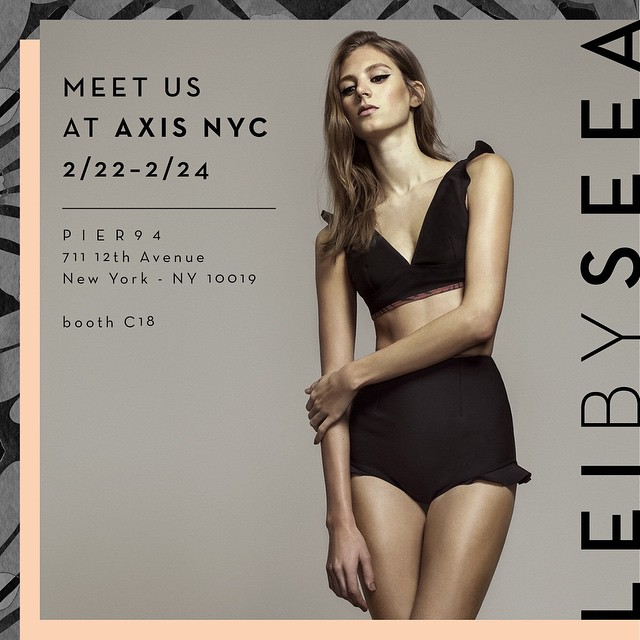 Launching for Summer 2015, Lei by Seea is a new fashion collection by Seea debuting at @axisshow this weekend! Follow us at @leibyseea and email surf@theseea.com for appointments to see the line.