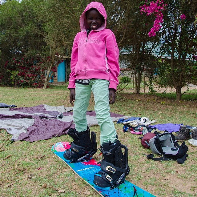 Introducing the newest @coalitionsnow athlete! Maureen from Naro Maro, raised on the slopes of Mt. Kenya! #summitforoursister #ski #snowboard #africa