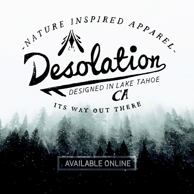 The entire collection is now available online. Click the link in our profile to shop the very first limited run of Desolation Supply Co. products.  _ #desolationsupply #itswayoutthere #DESO #madeinSF