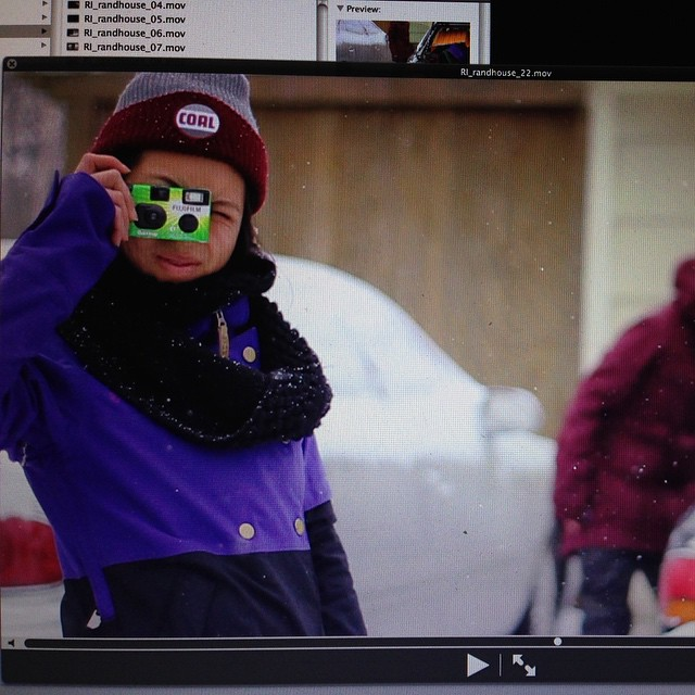 Just an analog girl boarding in a digital world. New @jetpack5000 edit is on @snowboardermag and @n.irv made sure no shot was disposed of.