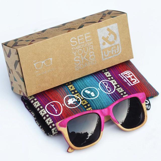 El pack completo para cerrar la semana! Excelente fin de semana para todos! #anteojosdeskate  #anteojosdemadera  #anteojosreciclados  #anteojos  #anteojosdemaple  #sunglasses  #sol #ufit  #ufitargentina