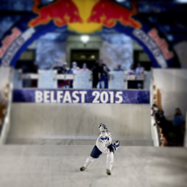 Slide away, Belfast. #crashedice #NikolayZimin #icecross #downhill