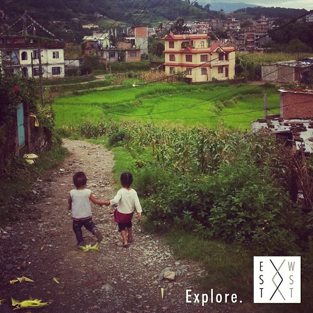 Grab a friend and explore somewhere new together. Happy Friday! #connect #explore #adventure #wanderlust #connectglobally #nepal #estwst