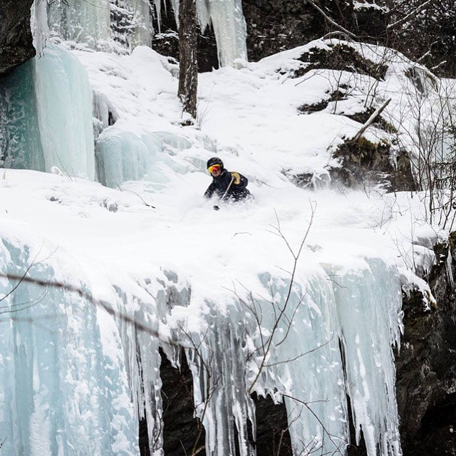 With another storm heading to the northeast, the iconic waterfall lines have never skied so well. @madtreesusa