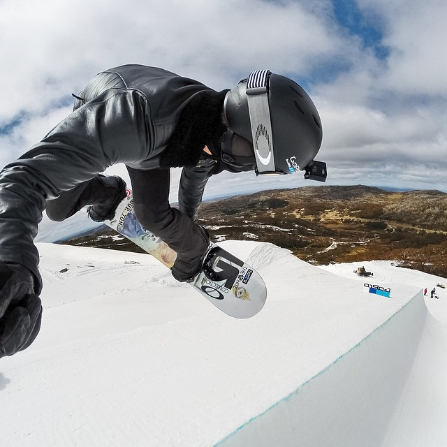 GoPro athletes @shaunwhite, @guskenworthy, @sagekotsenburg, @bobby_brown1 and @eric_willett take over our Instagram on Sunday! Things are about to get real rad #AirandstyleLA #GoPro