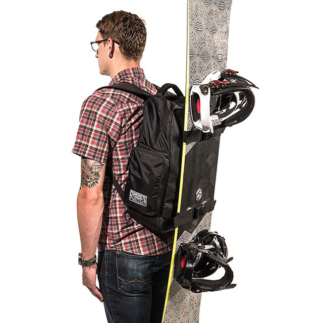 Old man winter is still around, which means there is still time to shred some fresh pow! The OG backpack is a great way to carry your board to your favorite spot this winter. #concretenative #getwiththeoriginal #snowboardlife #shredlife #powpow #backpack