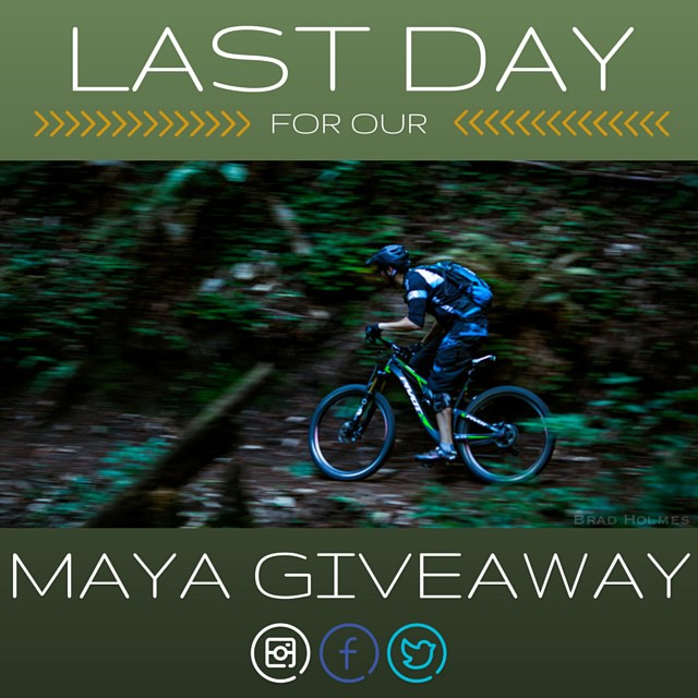Ride away from this contest with a new lid. Contest ends tonight! Enter for your chance to win a Maya at the link in our bio or on our Facebook page #winamaya