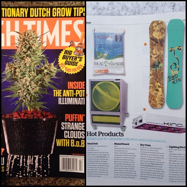 Check out the February issue of @hightimesmagazine for the feature of our @grassrootscalifornia colab board! Get on em quick cause they are limited edition, they can be purchased on our webstore www.smokinsnowboards.com, or at...