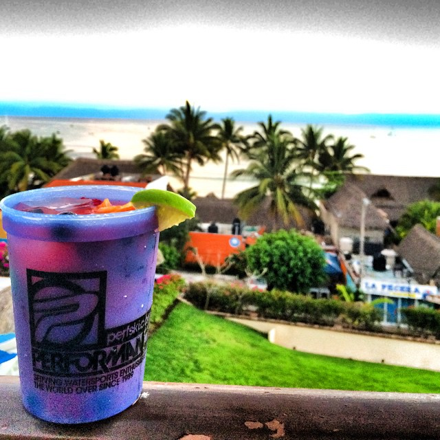 In Mexico, I no longer call it the Marg-Arita, it's officially called the Nat-Arita! #WHALEDIT! @perfski @waveofwellness