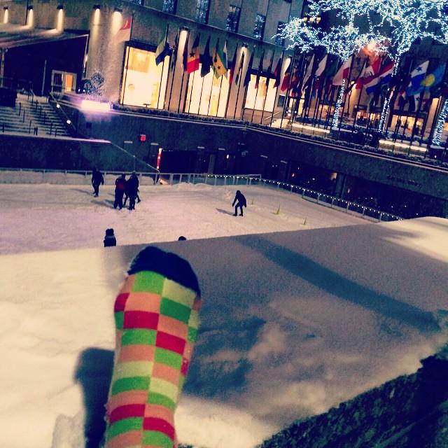 Un domingo cualquiera en NY. Cualquiera, no? #placer #socks #style #ny #MediasConOnda #YoUsoSuarez #LoveYourFeet