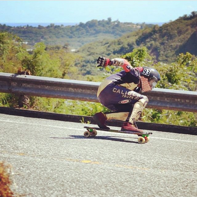 caliber homie @nycl_kai railing a fast left in Puerto Rico