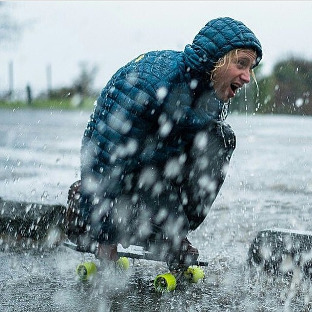 Unpredictable conditions. Good thing @cholulaindahole enjoys lemonade. Photo -- @chrisburkard