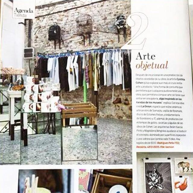 Publicación en la Revista Living | No dejes de pasar por @laonion a buscar tu mochila MAMBO!
