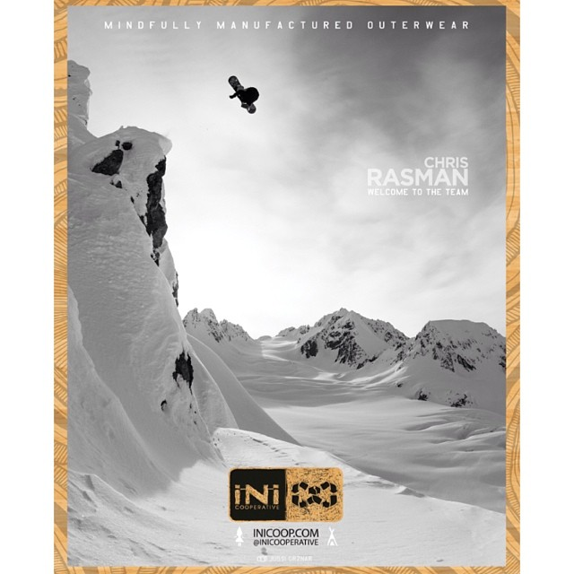 #TBT to last months issue of @kingsnowmag featuring iNi rider @Chrisrasman . #Boosting #BC