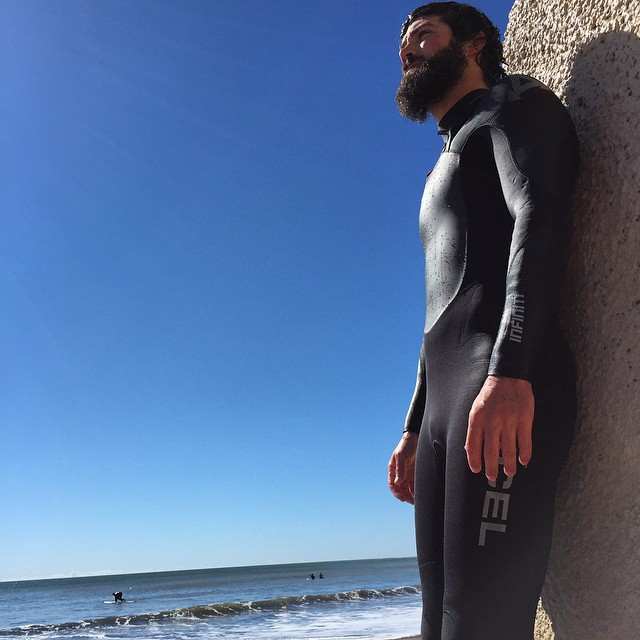 Surf wax is the new beard oil // Bearded surf sessions, Bolinas edition #surfing #beard #bolinas #california #portait