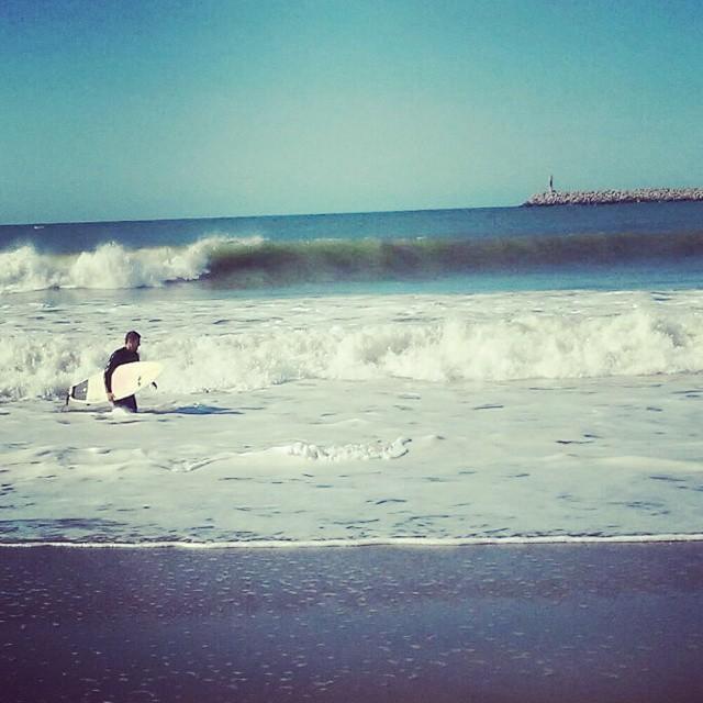 Sale una olita en Quequén!! .:Conexión Natutal:. #SURFTRIP #SURF #TRIP #FRIENDS #QUEQUEN #SUMMER2015 #TRANKASTYLE #CONEXIONNATURAL #KNEWTON