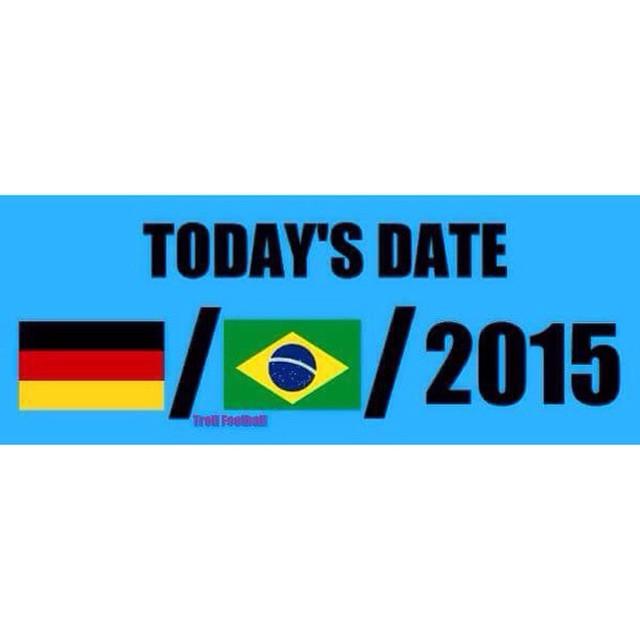Brasil decime que se sie7e! #Brasil2014