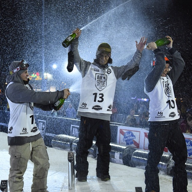 Time to celebrate the win! @yukikadono taking the top spot in LA. #AirStyleLA (