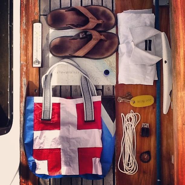 Weekly stuff! Time to #sail . Vamos al agua con @pabloberesky #survivalkit . Sos muy #classic! #mafiaclassic