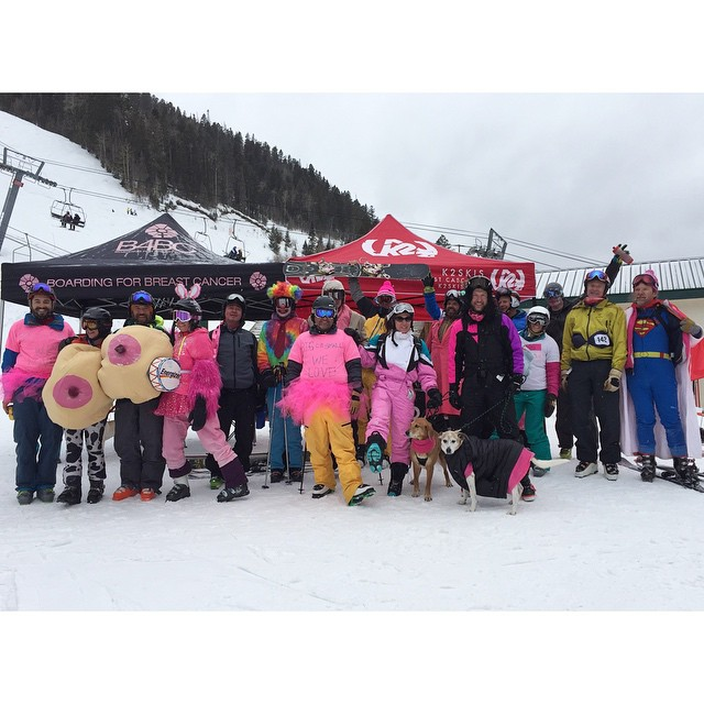 Many thanks to all who came out and supported the K2 Bumps Challenge + Paint For Peaks Snowboard Auction at Taos Ski Valley over the weekend! We definitely felt the love and want to give a special shout out + thanks to @SkiTaos, @K2Snow the...