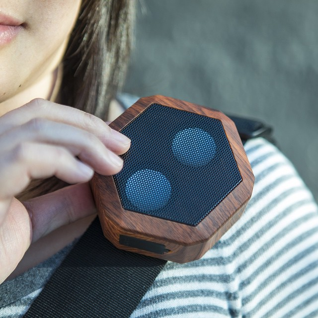 The Cherry Woodgrain REX is available for preorder online at boombotix.com