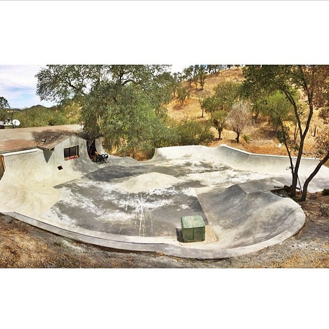 The zone! Ever dream about turning your back yard into a skate park? @trevor.jacob did exactly that at the #gkc compound. #BULThelmets #gkc4life #skatepark @gkcworldwide